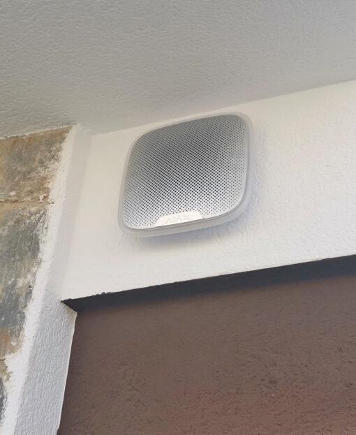 AJAX Street Siren installatie