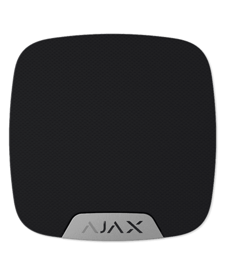 AJAX Home Siren Black