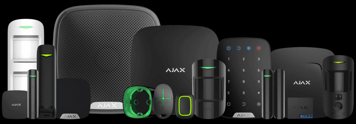 AJAX Alarm Systeem applicatie