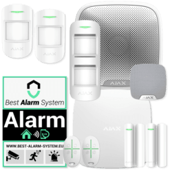 Alarm system intermediate home / row house | AJAX Alarm system