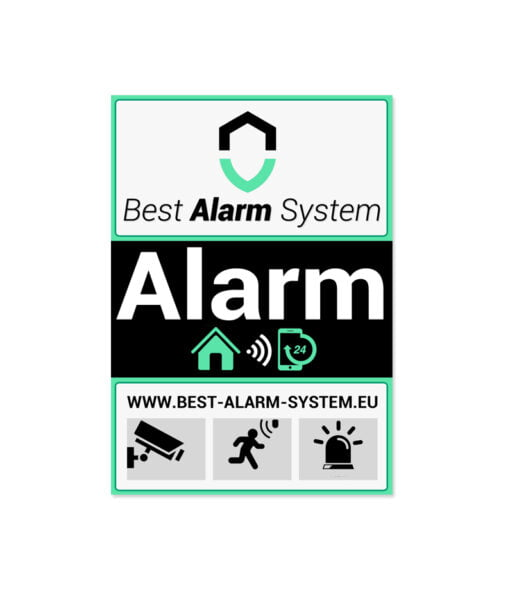 Best Alarm System sticker