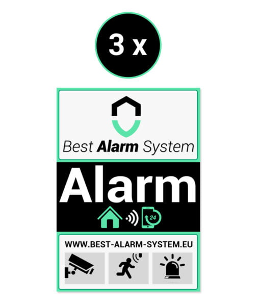 Best Alarm System stickers