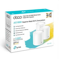 Deco X20 AX1800 Wifi Netwerk