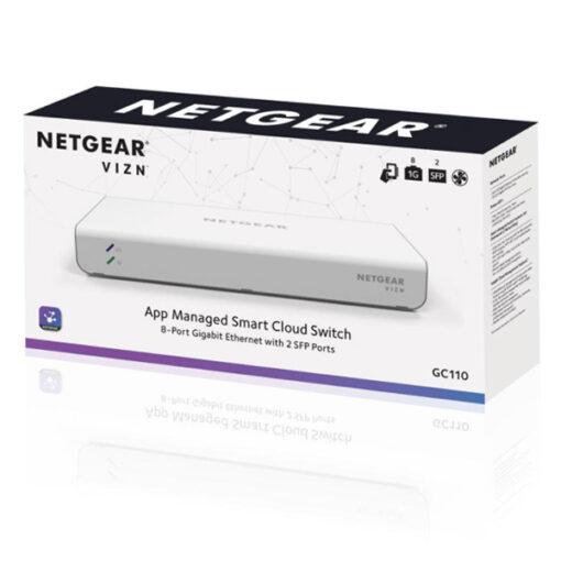 Netgear GC110 Interruptor de rede